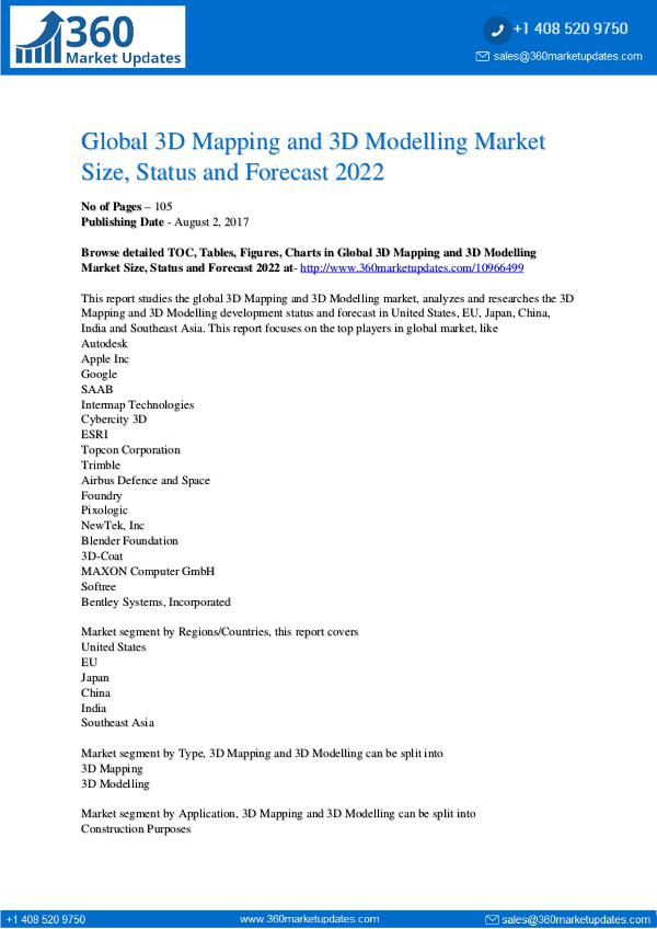3D-Mapping-and-3D-Modelling-Market-Size-Status-and