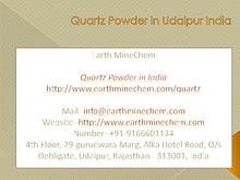 Quartz Powder in India Price