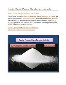 Calcite Powder Manufacturer in India