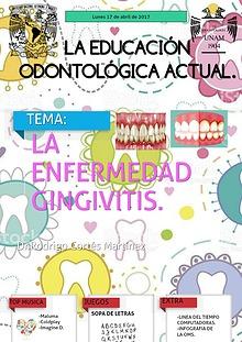 La educacion odontologica actual