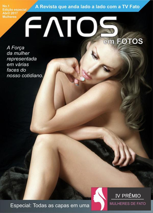 Revista Fatos em Fotos Edição N1 Revista Fatos Em Fotos - Edição Especial Mulheres