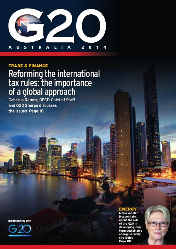 G20 Foundation Publications Australia 2014