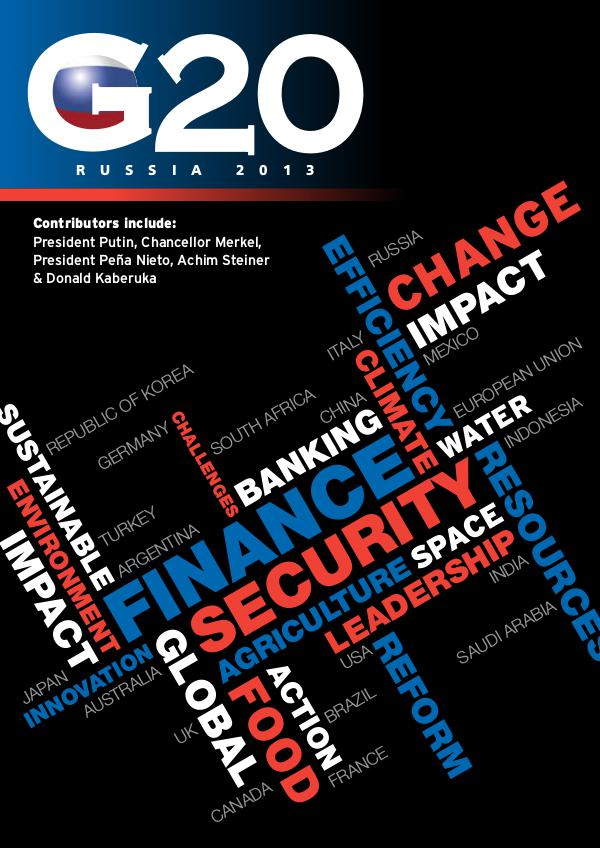 G20 Foundation Publications Russia 2013