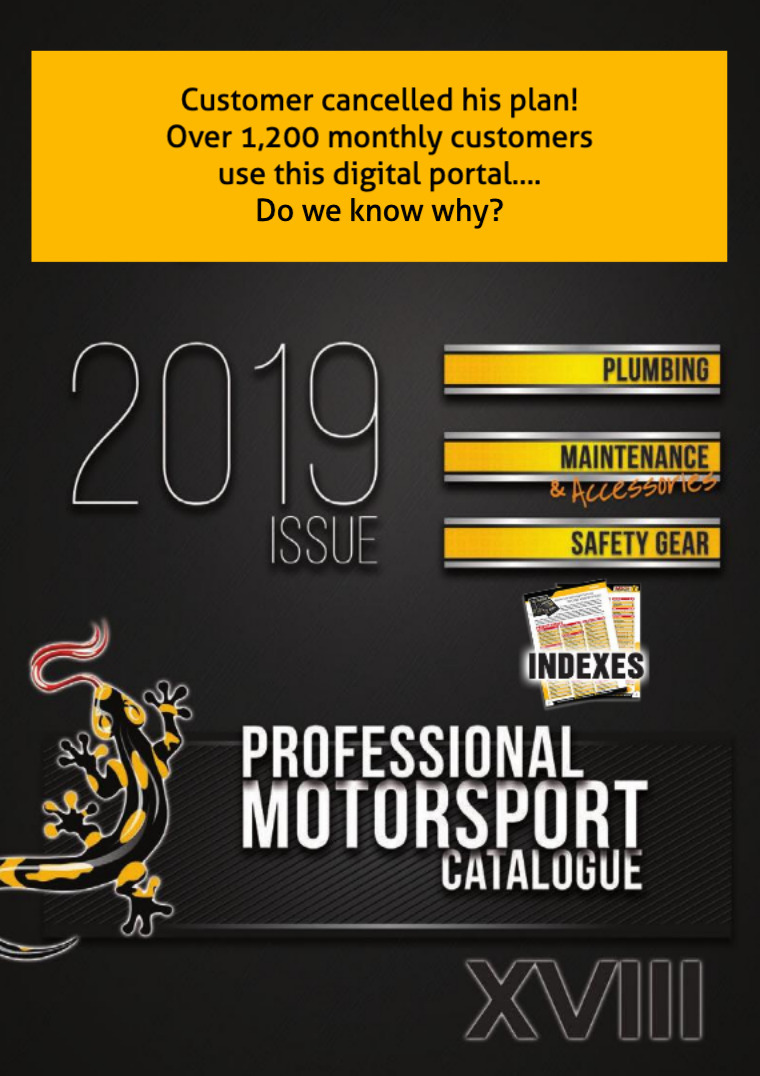 2019 MSCN Catalogue Professional Motorsports Gear
