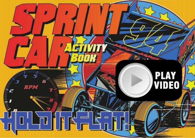 Sprint Car Activity Book Volume 1