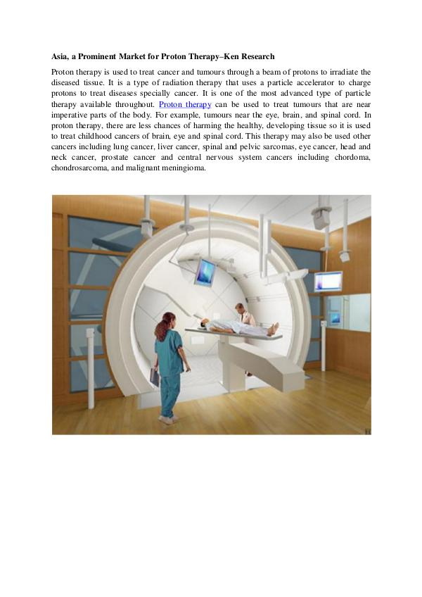Market Research Report Proton therapy Global Market research Report,Asia