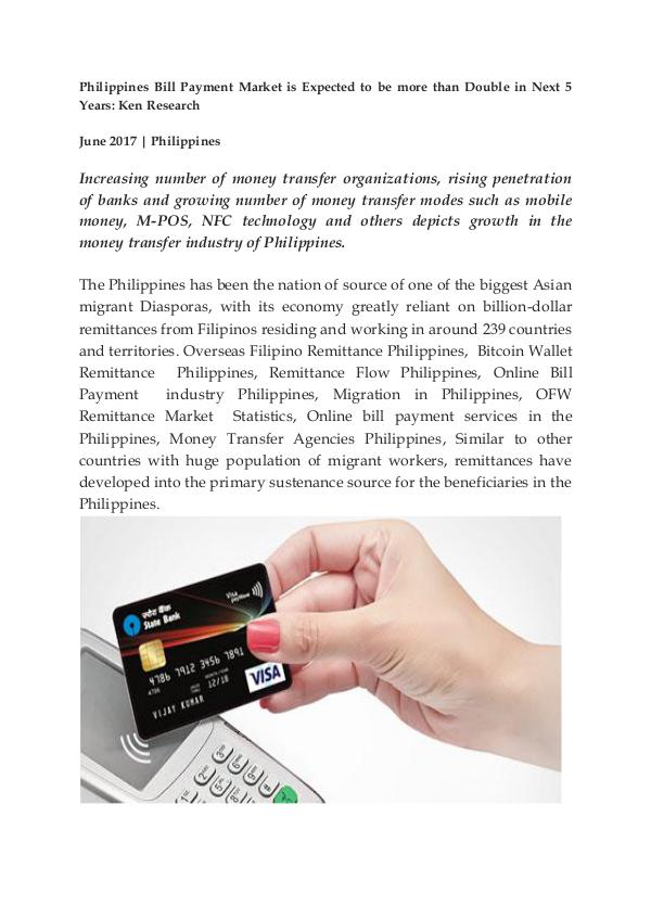 Overseas Filipino Remittance Philippines,Migration