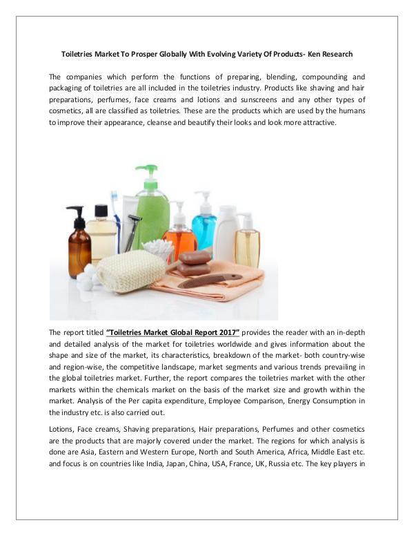 Market Research Report Global Cosmetics Market Analysis,North America Ski