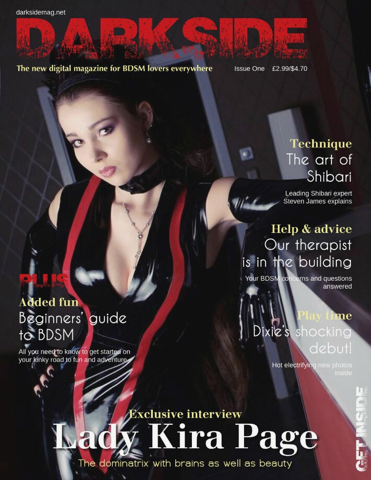 Darkside Magazine Issue One