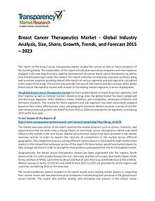 Breast Cancer Therapeutics Market 2015