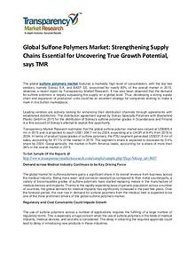 Sulfone Polymers Market Size, Share, Trends and Forecasts To 2024