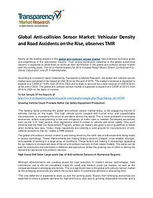 Anti-collision Sensor Market Size, Share, Trends and Forecast To 2024