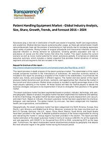Patient Handling Equipment Market Growth, Trend, and Forecast To 2024