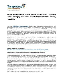 Waterproofing Chemicals Market Growth, Trend, Price and Forecast