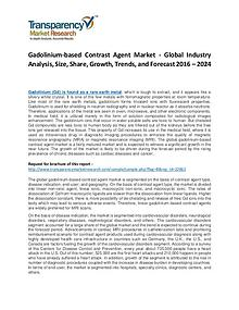 Gadolinium-based Contrast Agent Market Growth and Forecasts To 2027