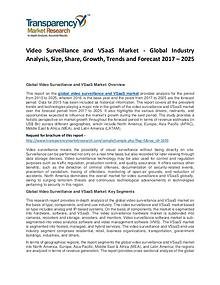 Video Surveillance and VSaaS Market 2017