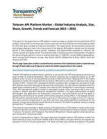 Telecom API Platform Market Growth, Demand, Price and Forecast