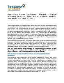 Operating Room Equipment Market Growth, Trends and Forecast