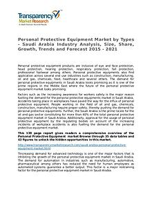 Personal Protective Equipment Market Growth, Trends and Forecast 2015