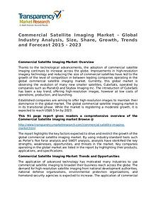 Commercial Satellite Imaging Market Growth, Trend, Price and Forecast