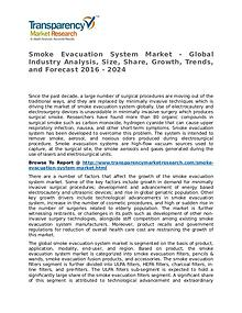 Smoke Evacuation System Market Growth, Trend, Price and Forecast