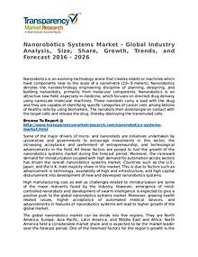 Nanorobotics Systems Market Size, Share, Growth, Trends, and Forecast