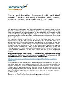 Static and Rotating Equipment Market 2015