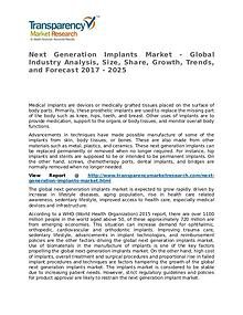 Next Generation Implants Market – Analysis and Forecasts