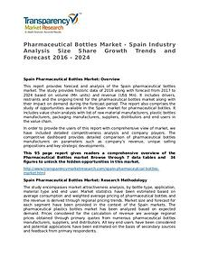 Pharmaceutical Bottles: Global Industry Analysis and Forecast