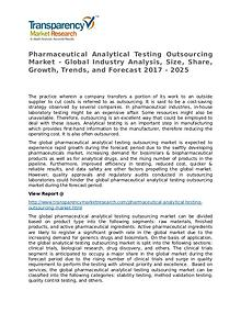 Pharmaceutical Analytical Testing Outsourcing 2017 Market