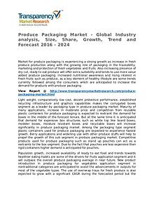 Produce Packaging Market Research Report and Forecast up to 2024