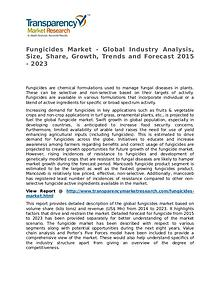 Fungicides Market Research Report and Forecast up to 2023