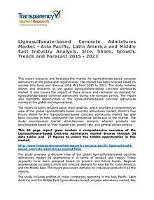 Lignosulfonate-based Concrete Admixtures Market Research Report