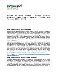 Sodium Chloride Market Research Report and Forecast up to 2024