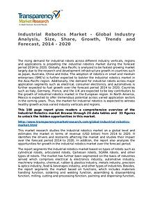 Industrial Robotics Market Research Report and Forecast up to 2020