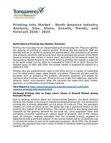 Printing Inks Market Research Report and Forecast up to 2024
