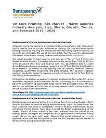 UV Cure Printing Inks Market Research Report and Forecast up to 2024