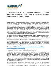Tele-intensive Care Services Market 2016 Share,Trend and Forecast