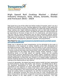 High Speed Rail Coating Market 2016 Share, Trend and Forecast