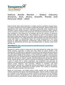 Sodium Amide Market 2016 Share, Trend, Segmentation and Forecast