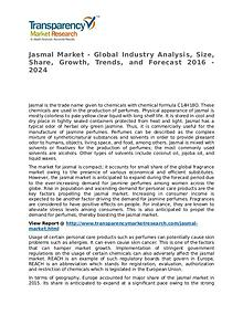 Jasmal Market 2016 Share, Trend, Segmentation and Forecast to 2024