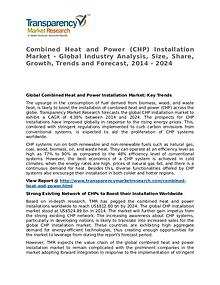 Combined Heat and Power Installation Market 2016 Share and Forecast