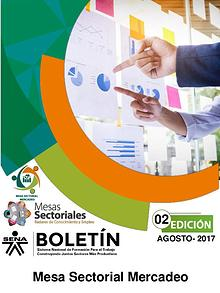 2 Boletín Mesa Sectorial Mercadeo