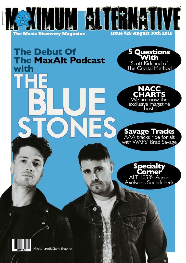 Maximum Alternative Issue 28 With The Blue Stones