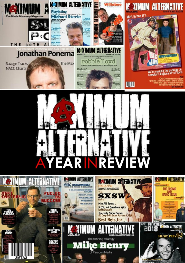 Maximum Alternative Issue 35 The 2018 Year In Review