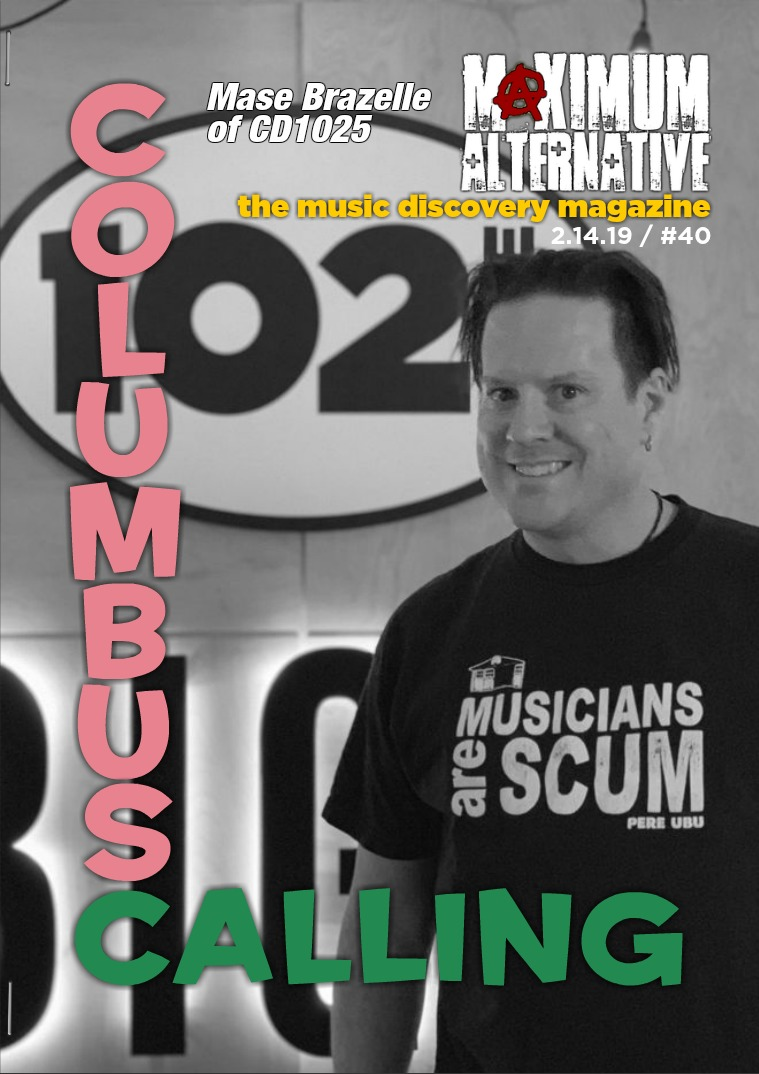 Maximum Alternative Issue 40 with Mase Brazelle PD of CD1025