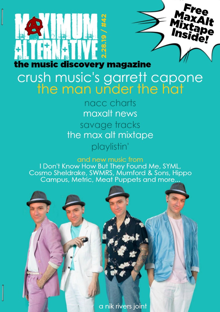 Maximum Alternative Issue 42 with Garrett Capone of CRUSH Management