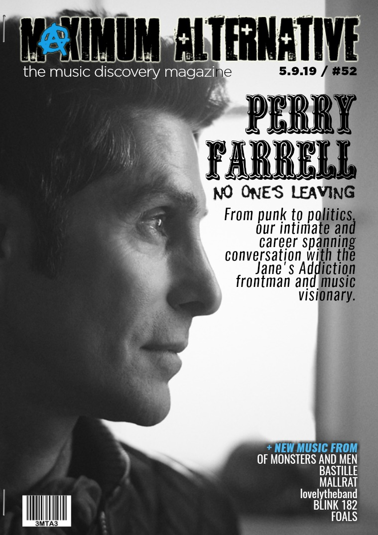 Maximum Alternative Issue 52 with Perry Farrell