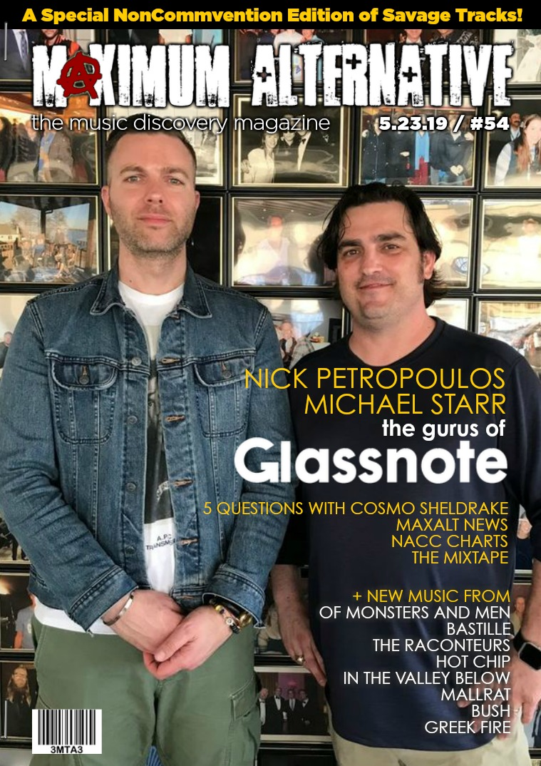 Maximum Alternative Issue 54 with Glassnote's Petropoulos & Starr