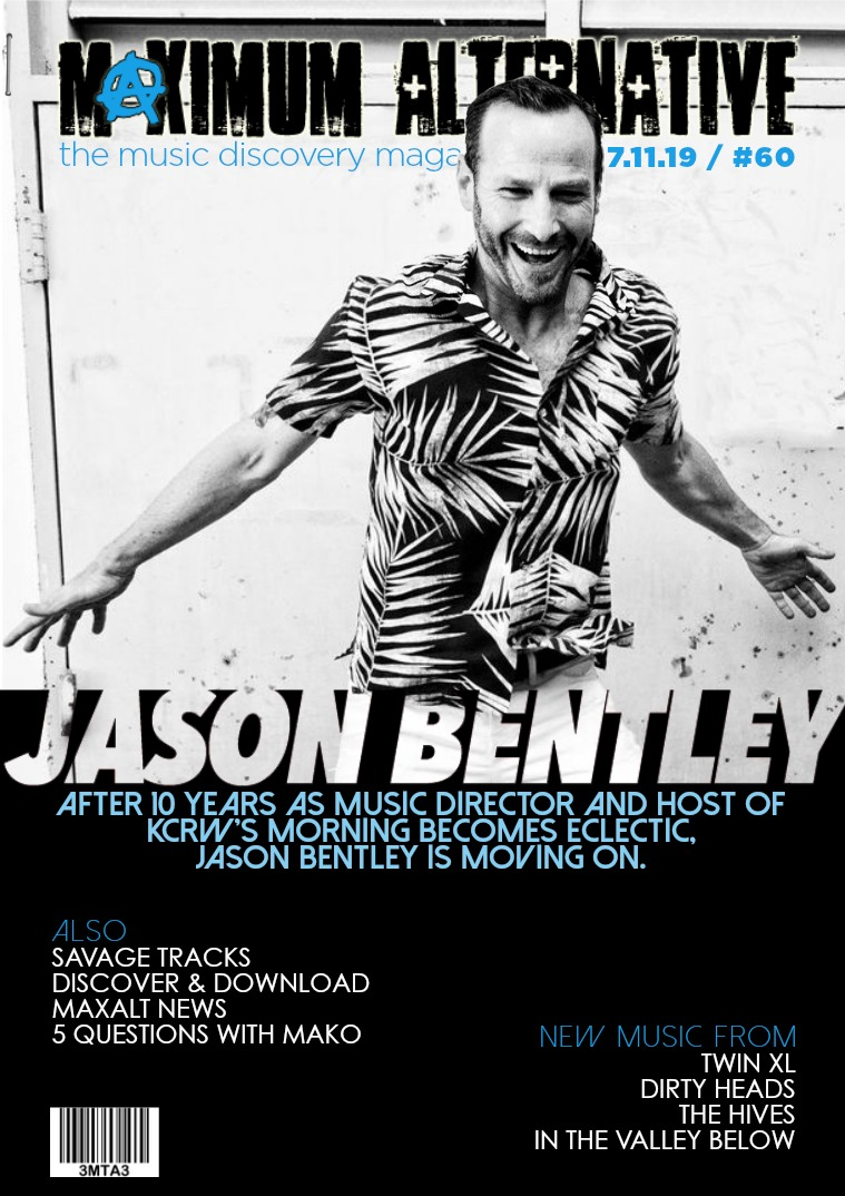 Issue 60. Jason Bentley.